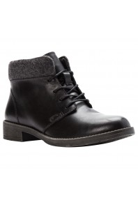 Propet Tatum Lace up Boot Black